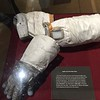 Lunar gloves were covered with some metal mesh fabric.