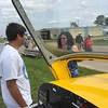 Talking with the students who built this RV-12.