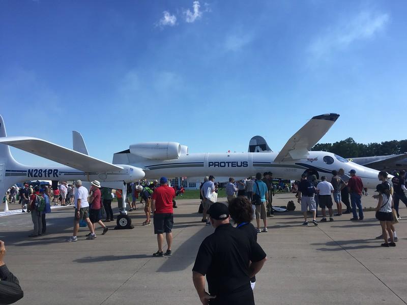 Very unique design from Burt Rutan.