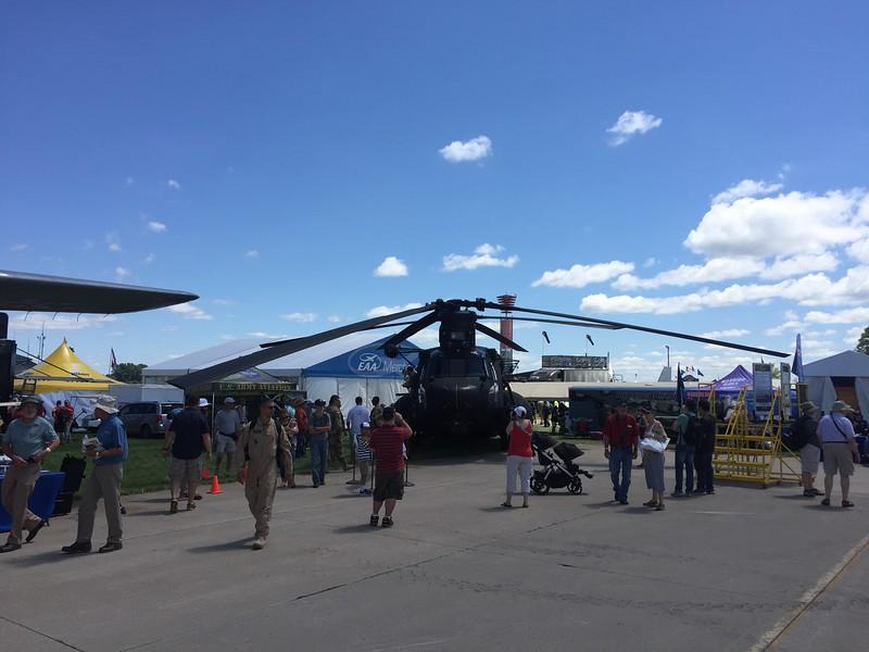 Huge helicopter.