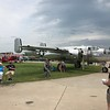 Mitchell B-25 bomber.
