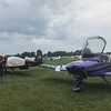 As we were sitting by the plane watching the airshow (and resting a bit), the EAA video crew came by and asked if I would be interviewed. They spent about 30 minutes talking to me.