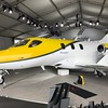 The Honda Jet has a unique pylon on the top of the wings that hold the engines.