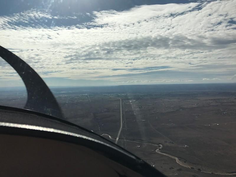 Approaching St. Johns, AZ.