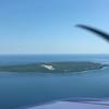 Arriving at Mackinac Island.