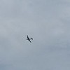 The B-29's were flying in the air show.
