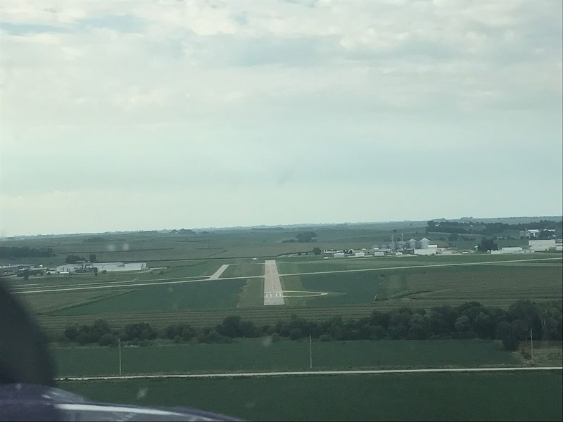 On final for RDK.