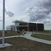 After we left Mt. Rushmore, we had lunch in Rapid City then drove out to Badlands National Park. At the turnoff was the Minuteman Missile Historic Site.