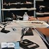 Model of the Iron Maiden 747 tour plane.