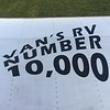 A new RV-7A is the 10,000th one flying.