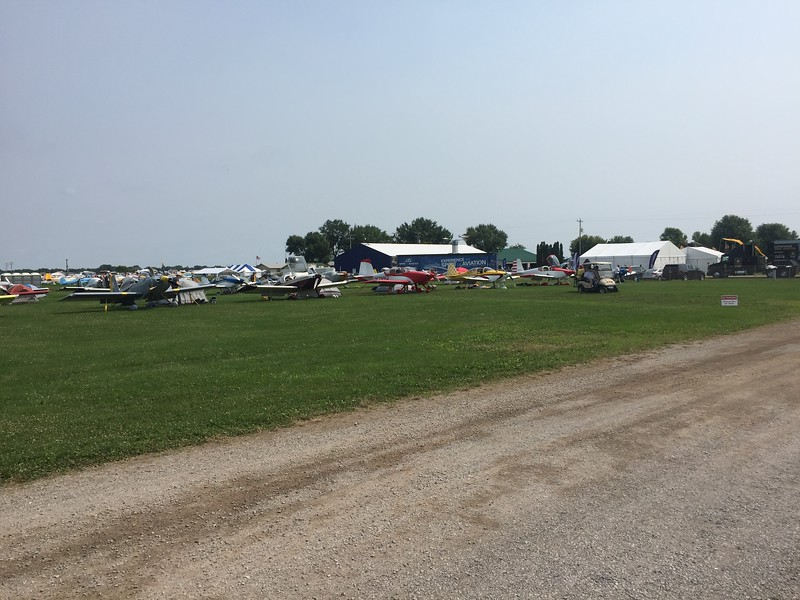 More Homebuilt camping over by the Blue Barn.