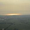 Oshkosh airport and Lake Winnebago.