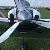 Interesting inlets on this RV-8A that is Subaru powered.