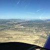 Saturday morning we launched for home. We flew over Dinosaur National Monument.