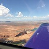Departing Page and we flew by the Glenn Canyon Dam.