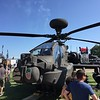 Apache attack helicopter.