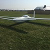 Rutan glider.