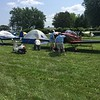 The judges looking over my neighbor's RV-8. We were also parked next to each other at Copperstate in 2017. He took the Grand Prize. I came in Second place. I'm glad I elected NOT to get judged this year.