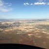 All clear on the west side of Moab. We flew over Arches National Park.