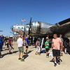 """B-17 Flying Fortress """"Yankee Lady""""."""