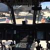 Chinook cockpit.