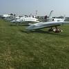 Lots of Rutan airplanes on display.