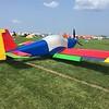 The rare RV-9 taildragger in Playskool colors.