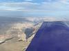 Mostly high clouds. I got spritzed on briefly as I flew over Bullhead City, AZ.