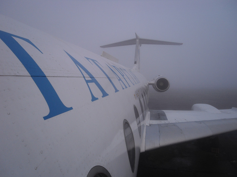Tatarstan Airlines on Chely airport