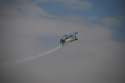 One of the South African Wizards aerobatics team.