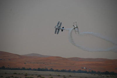 Part of a team aerobatics display.