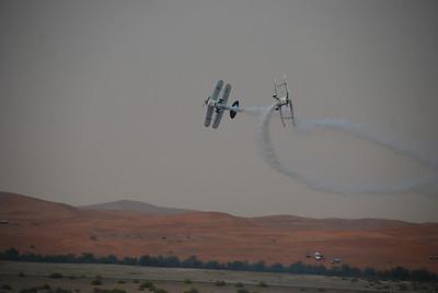 Part of a team aerobatics display.