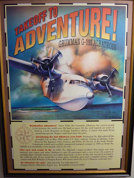 Ad poster for G-111
