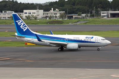 All Nippon Airways Boeing 737-700 JA14AN