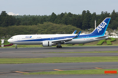 All Nippon Airways Boeing 767-300/W JA623A Winglets Fitted April 2011