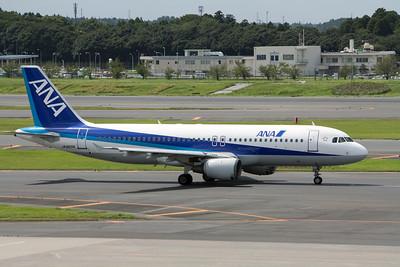 All Nippon Airways Airbus A320-200 JA8609