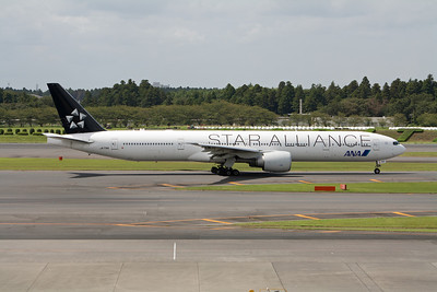 All Nippon Airways Boeing 777-300 JA731A Star Alliance