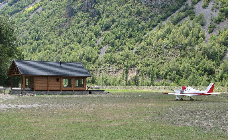 El refugio de aviadores del aeroclub