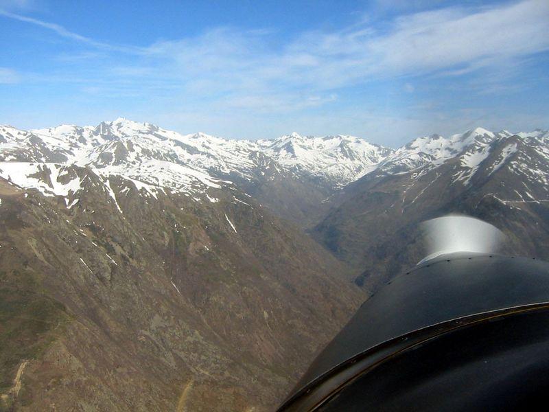 Travesia del Pirineo rumbo al sur de Francia
