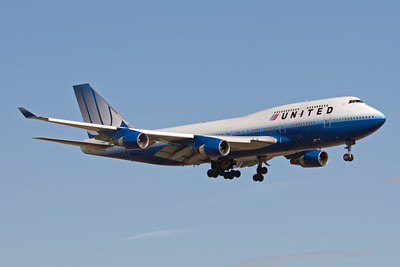 United Airlines Boeing 747-400 N171UA