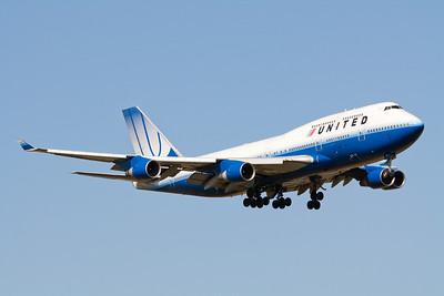United Arlines Boeing 747-400 N175UA