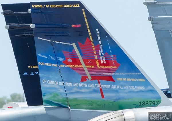CF-18 Tail art