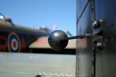 Rudder limiter. Very art-deco looking, I thought.