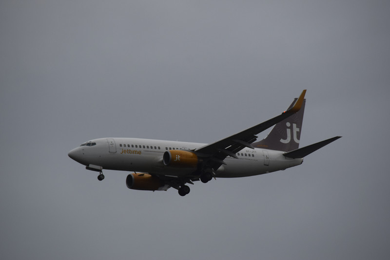 Jet Time Boeing 737 OY-JTT