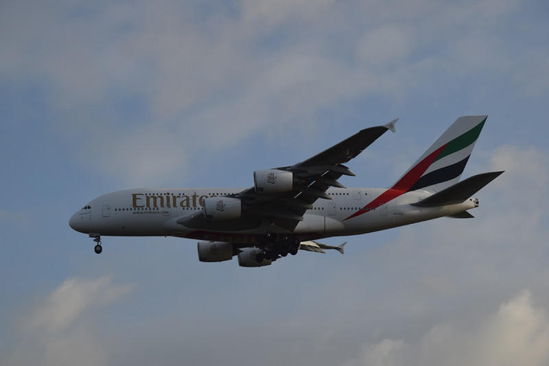 Emirates Airbus A380 A6-EER