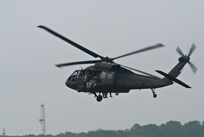 Blackhawk helo with Spec Ops