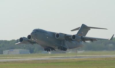 C-17 GlobeMaster taking off