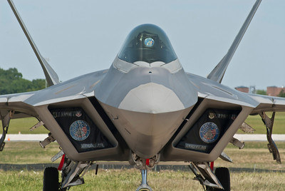 F-22 Raptor static display