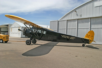 This aircraft was the first one purchased by the National Park Service.