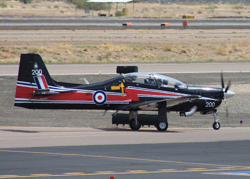 1989 Short Brothers S312 TUCANO T MK1 #N822RS